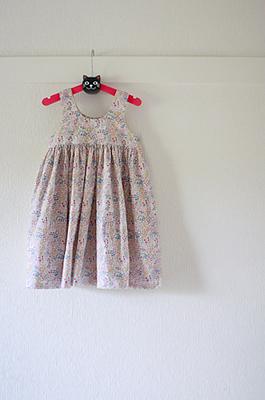 クエアネックのワンピース/まいにち着る女の子服